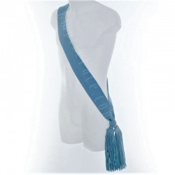 Sergeant Officer Plain Scarlet RAF Blue Wool Sash