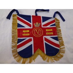 Hand Embroidered Custom Made Regiment Banner