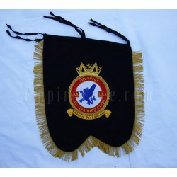Hand Embroidered Custom Made Squadron Banner