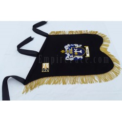 Hand Embroidered Custom Made Bagpiper Banner