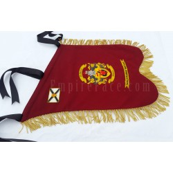 Hand Embroidered Custom Made Pipe Band Banner