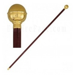 Brown Officer Parade Stick Ball top