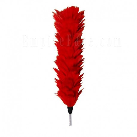 Red Feather Plume / Hackle 12""