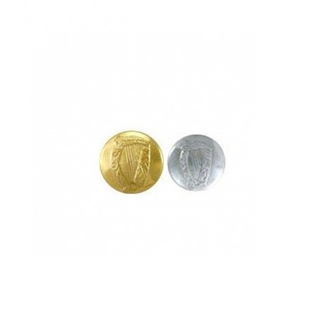 Irish Harp Uniform Jacket Buttons