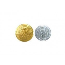 Scottish Thistle Round Uniform Jacket Buttons