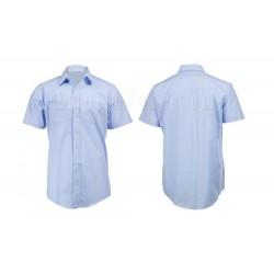 Light Blue Short Sleeve Dress Shirt