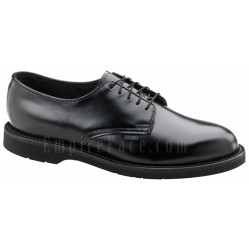Classic Leather Oxford Dress Uniform Shoes - High Shine