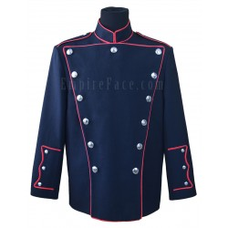 Deluxe Double Breasted High Collar Fire Dept Honor Guard Dress Jacket