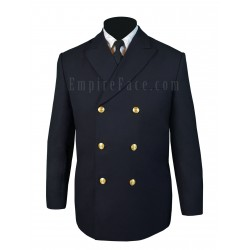 Black Double Breasted Honor Guard Jacket