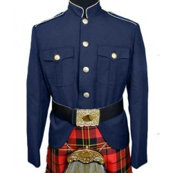 Navy Class A Honor Guard Kilt Uniform Jacket