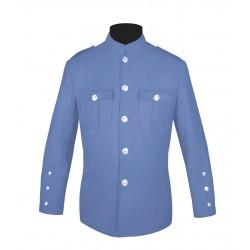 Lt Blue High Collar Police Honor Guard Uniform Jacket