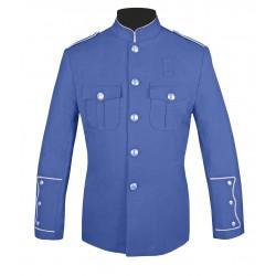 Lt. Blue High Collar Police Honor Guard Uniform Jacket