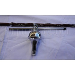 Drum Major Mace Poles / Ceremonial / Parade Sticks / Staffs