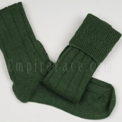 Military Green Pipe Band Full Socks