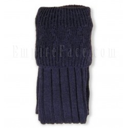 Navy Blue Pipe Band Full Socks