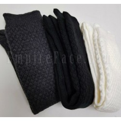 Charcoal Black Full Socks